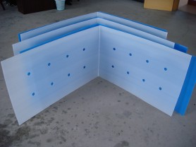 cold storage iron basket enclosures